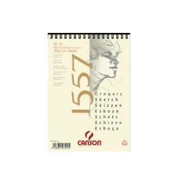 Skizzenpapier A4 120g, weiss 50 Blatt