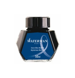 Tinte 50ml blau/schwarz
