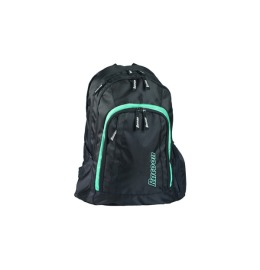 Backpack City Rack 47x33x18cm black/acqua